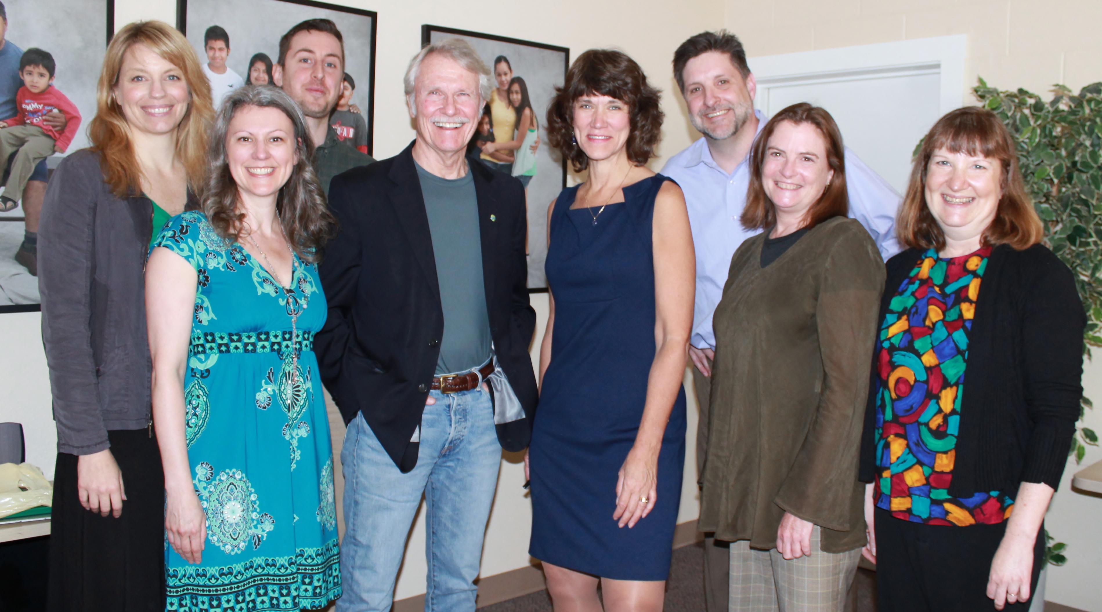 John Kitzhaber, Judy Strand & MFS Development Team