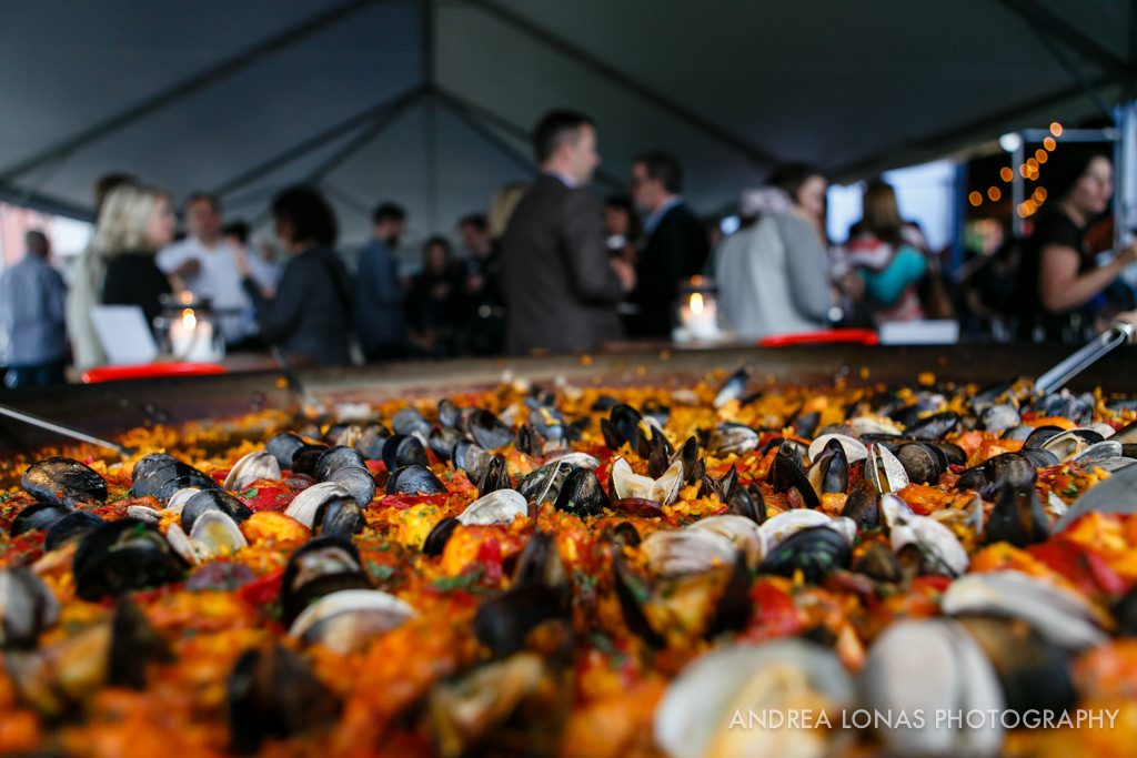 Delicious Mussels at Classic Wines Auction's Corks and Forks