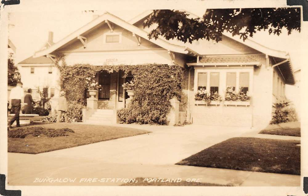 Historic Bungalow Fire Station 18, site of our present day NE 24th and Project Linkage office.
