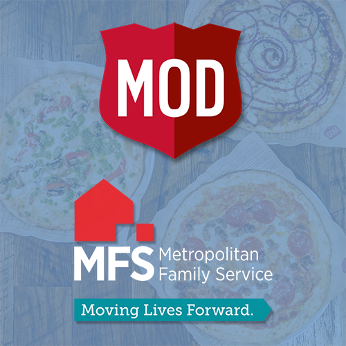 Mod Pizza and Metropolitan Family Service