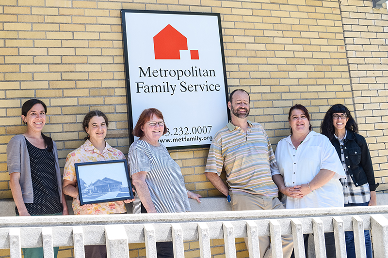 The staff at Metropolitan Family Service's NE 24th office.