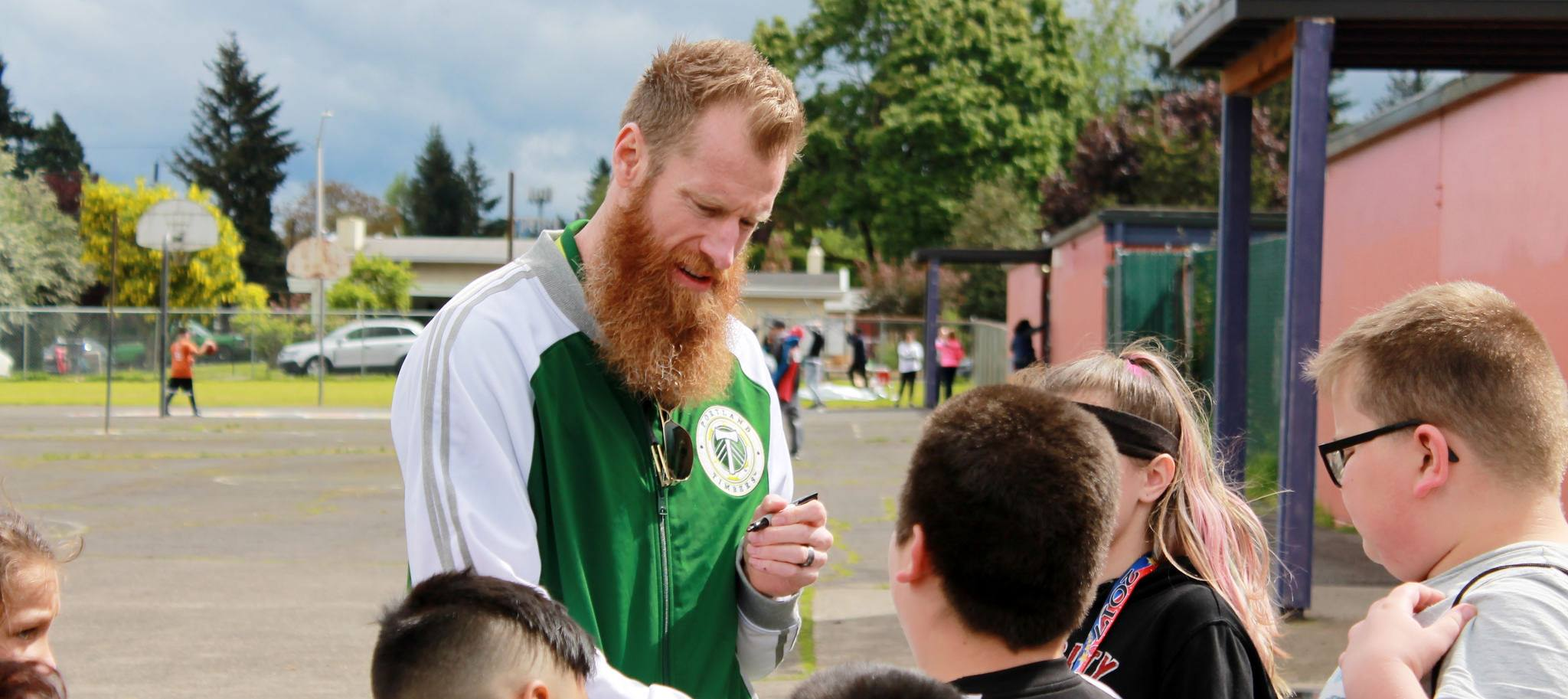 Community Cup - Nat Borchers of the Timbers