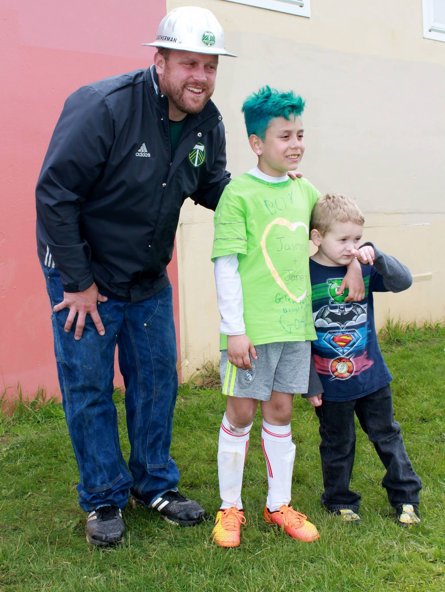 Community Cup - Timber Joey and Students