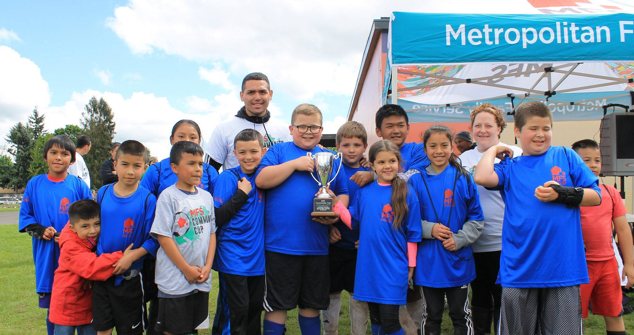 Community Cup - The winning team