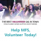 CWA Volunteer - Help MFS, Volunteer Today!