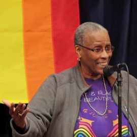 Cynthia Butts at Our Bold Voices: Generations of Pride