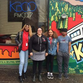 KBOO MFS Interns