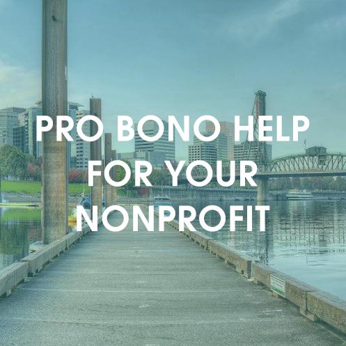 Pro Bono Help for your nonprofit