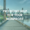 Pro Bono Help for your nonprofit